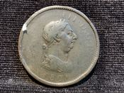 George III, One Penny 1806, Poor, AD478